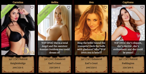 diva escorts russian These Russian beauties are the cream of the Euro crop
